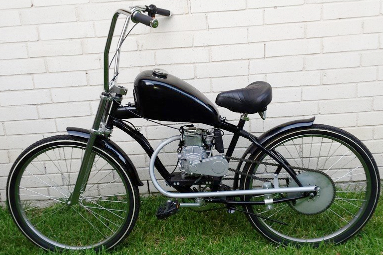 Custom built motorized chopper bicycles custom motorized for Custom motorized bicycles parts