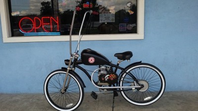 Sportster Chopper 4 stroke Motorized Bicycle Scooter Moped $1800