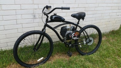 Black 4 Stroker Motorized Bike Scooter Moped $975
