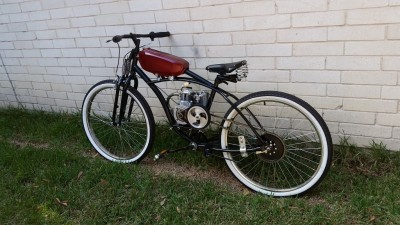 4 Stroke Cafe Racer Motorized Bike $1875