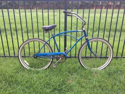 How to build a motorized bike using an older cruiser frame