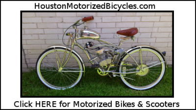 Custom Built Motorized Bikes