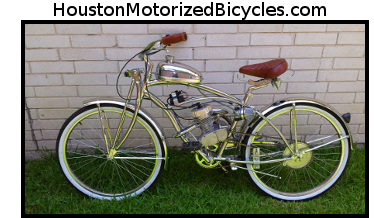 Custom built motorized bikes custom motorized bicycles for Custom motorized bicycles parts